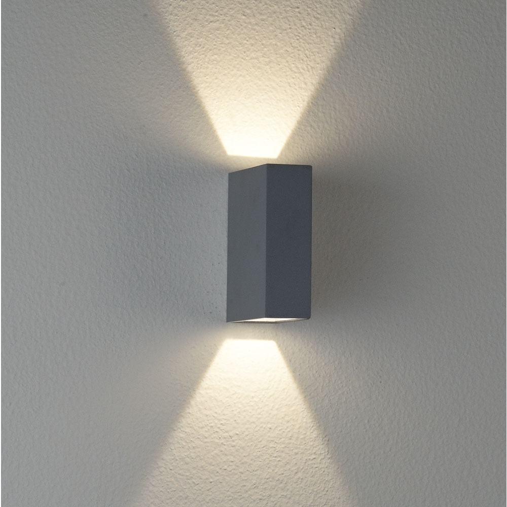 Ex2561 Led Exterior Up/down Wall Light – Clarence (View 5 of 20)