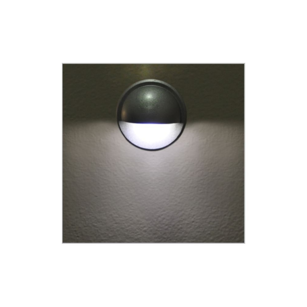 Exterior Aluminium Led Step / Pathway Recessed Wall Light Ip65 With Regard To Well Known Ip65 Outdoor Wall Lights (Gallery 15 of 20)