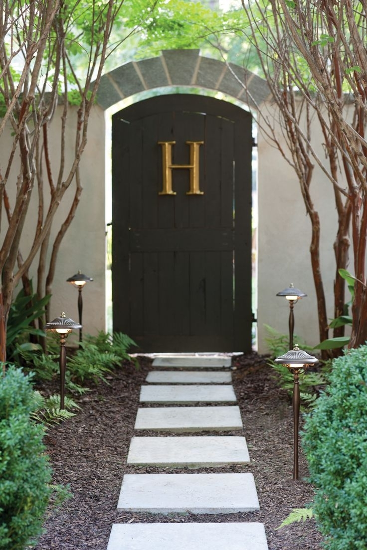 Exterior Lighting For Well Known Hinkley Lighting For Home Garden (View 6 of 20)