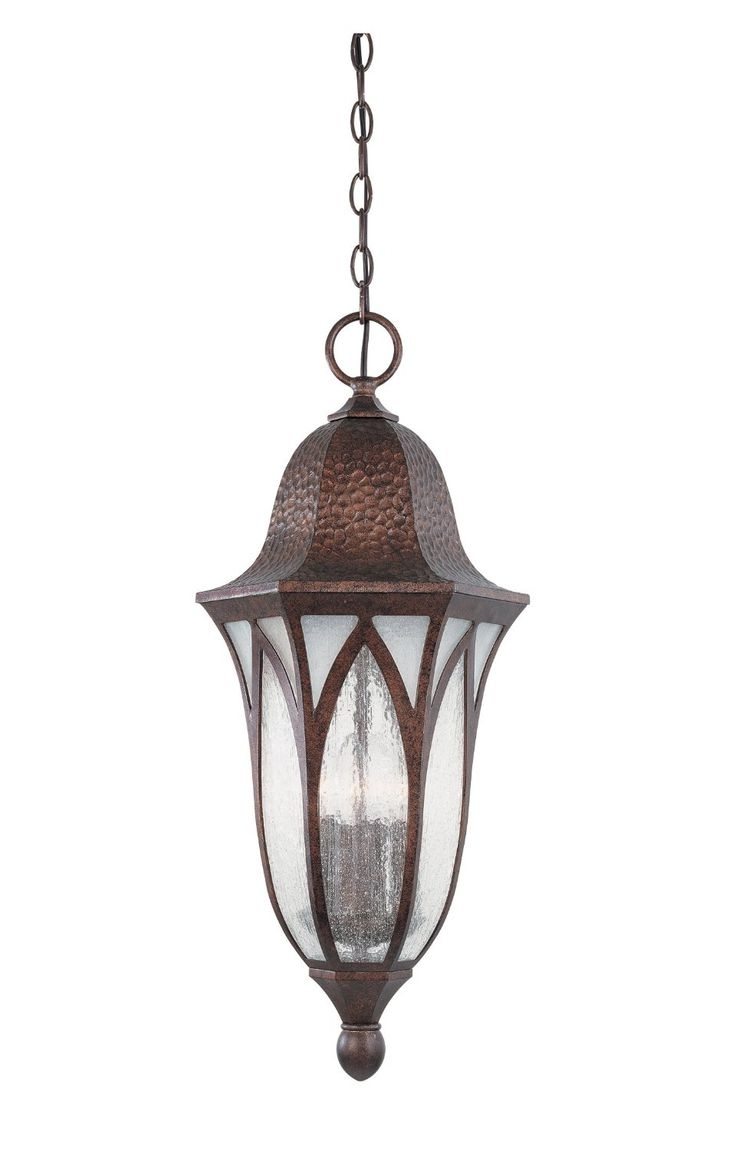 Exterior Lighting Intended For Most Current Outdoor Hanging Lamps At Amazon (View 5 of 20)