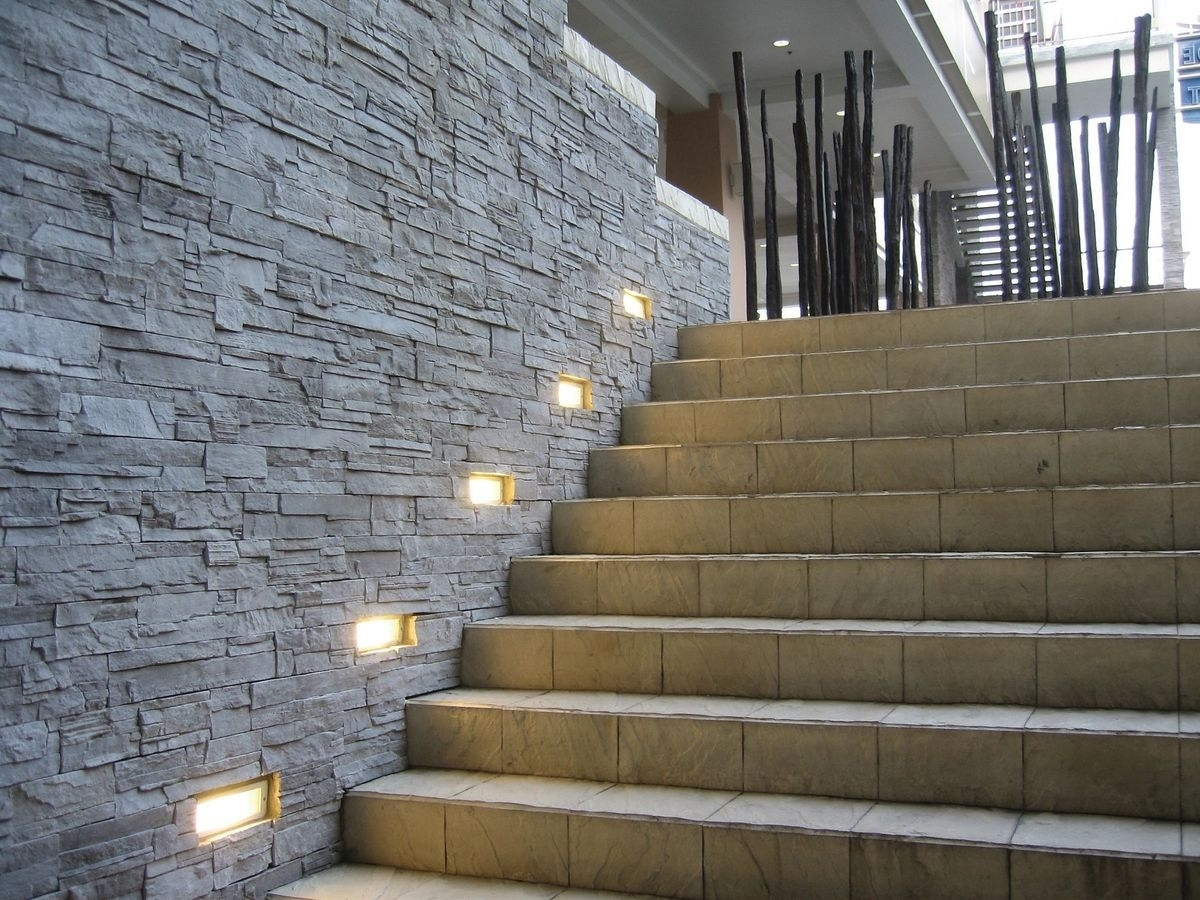 Exterior Wall Light, Lights And Walls Intended For Popular Outdoor Stone Wall Lighting (View 1 of 20)