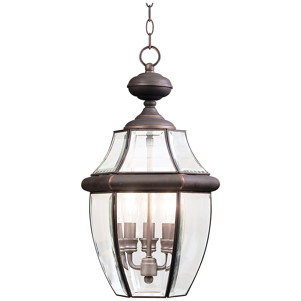"""Extra Large Outdoor Hanging Lights Intended For Well Known Quoizel 26 1/2"""" High Extra Large Outdoor Hanging Light – Style (Gallery 5 of 20)"""