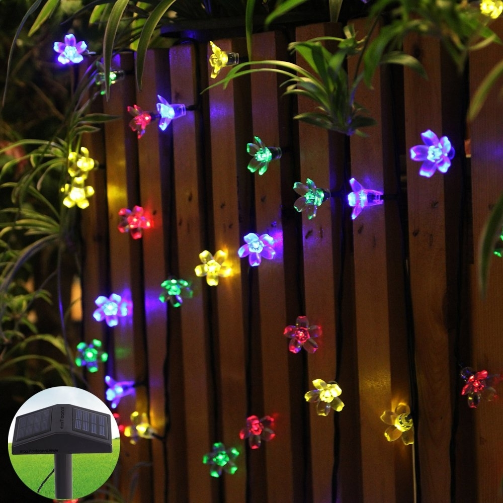 Extraordinary Solar String Lights Home Depot And Lighting Ideas Set With Latest Outdoor String Lights At Home Depot (Gallery 17 of 20)
