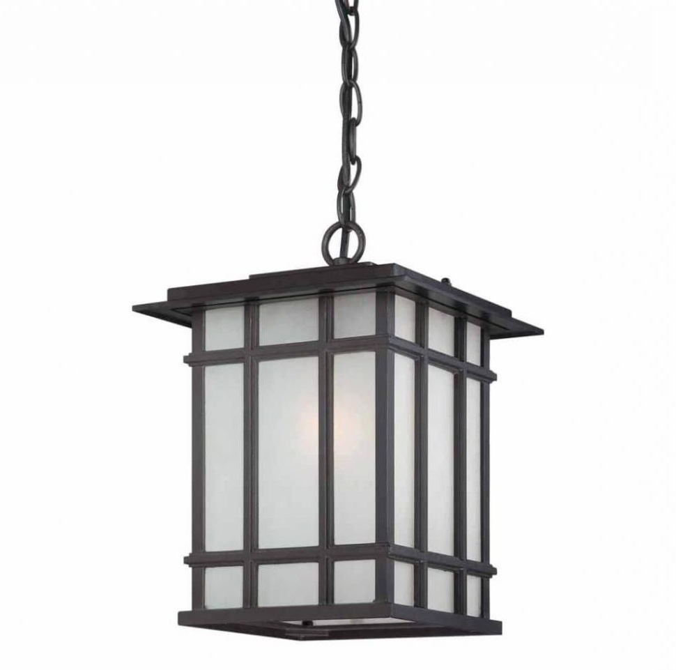 Famous Craftsman Style Outdoor Ceiling Lights Throughout Lighting : Lighting Marvelous Outdoor Pendant With Mission Style (View 6 of 20)