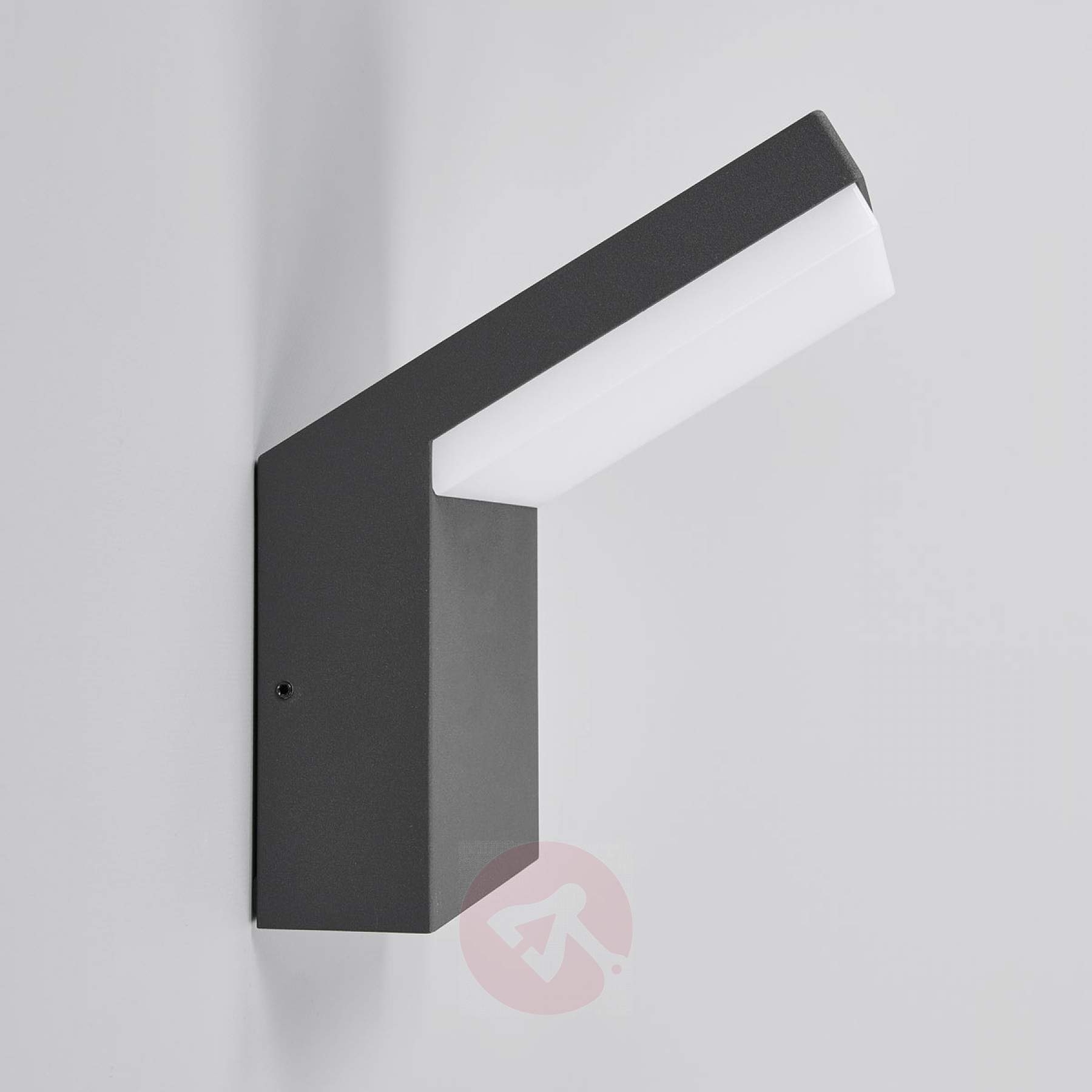 Famous Downlighting Led Outdoor Wall Lamp Yolena (View 11 of 20)