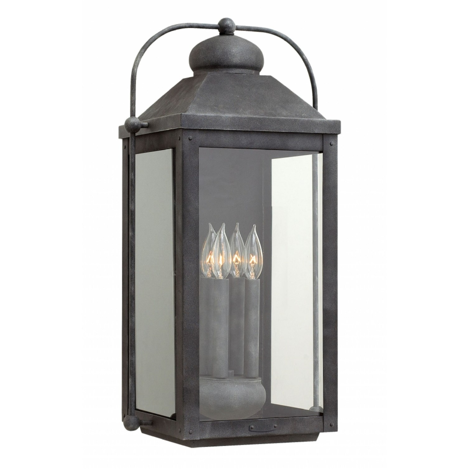 Famous Extra Large Outdoor Wall Lighting Intended For Hinkley 1858Dz Anchorage 4 Light Outdoor Extra Large Wall Mount In (View 13 of 20)
