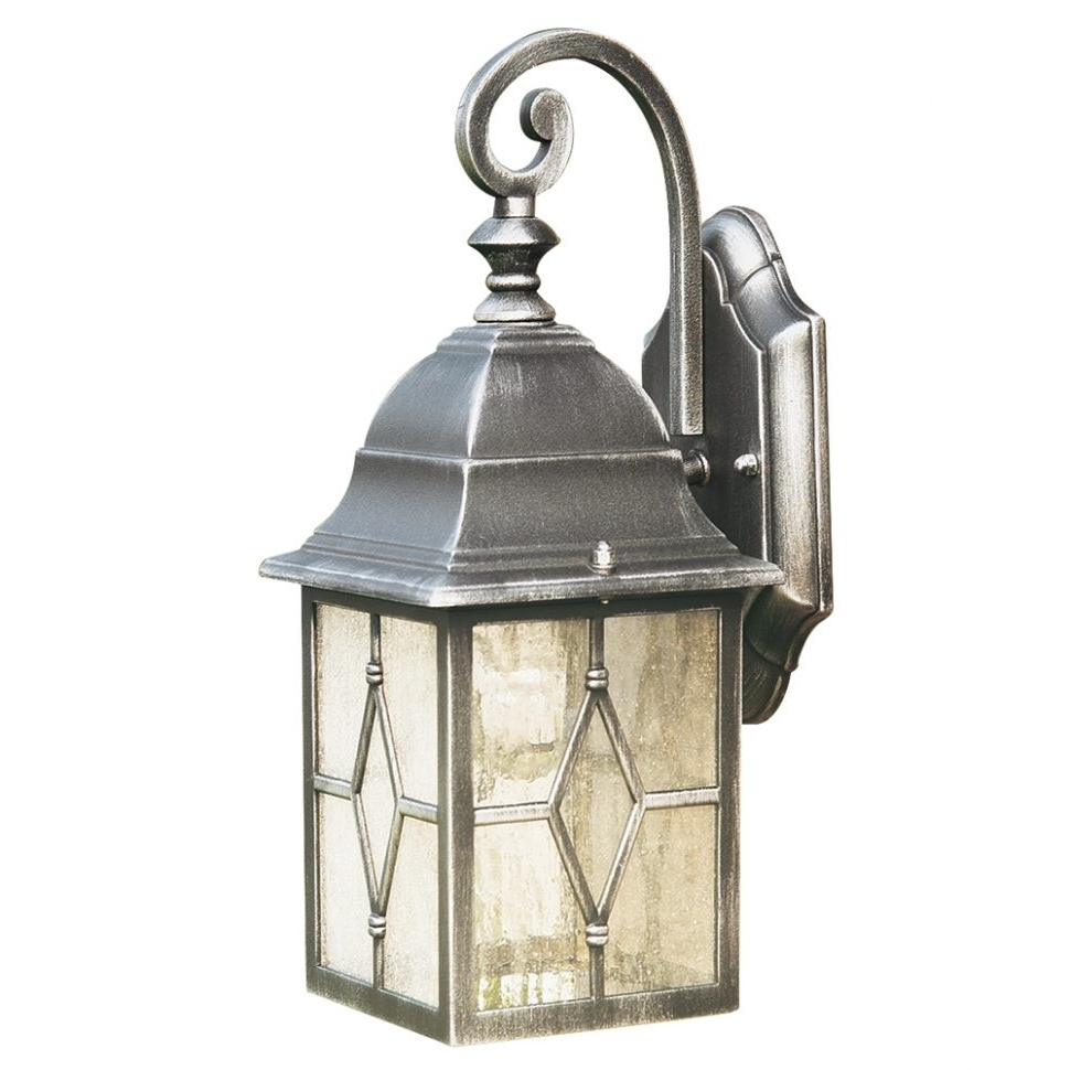 Famous Georgian Style Outdoor Lighting Inside Diy : Outdoor Wall Lights Light Page Special Offer Searchlight Genoa (Gallery 6 of 20)