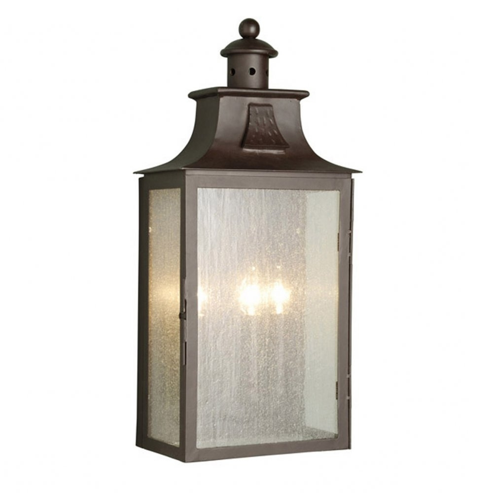 Famous Half Lantern Outside Wall Lights Intended For Elstead Lighting Balmoral Large Half Wall Lantern At Love4Lighting (View 2 of 20)