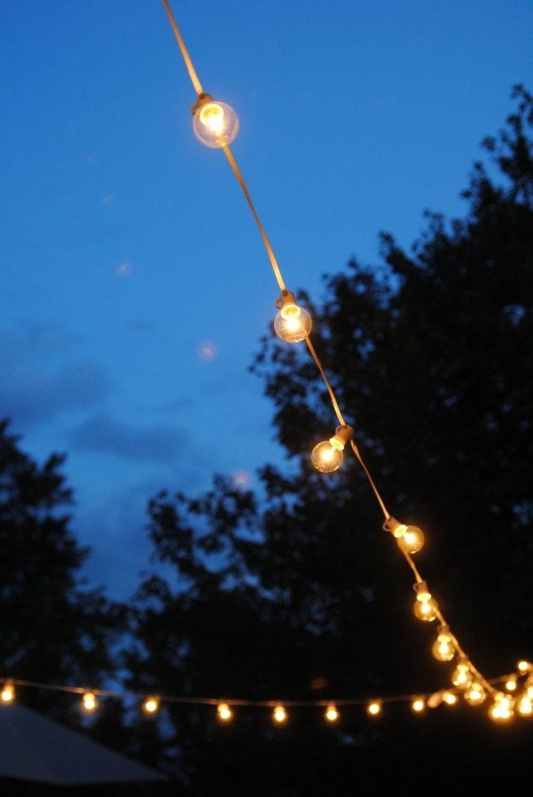 Famous How To Hang Outdoor Lights Without Walls! What An Easy And Throughout Hanging Outdoor Lights Without Nails (View 5 of 20)
