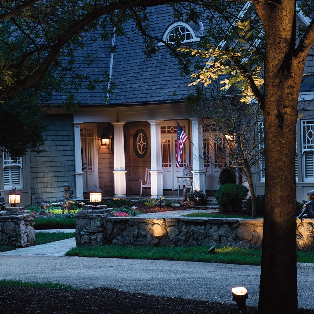Famous Kichler Outdoor Landscape Lighting With Regard To Room Lighting Gallery (View 16 of 20)
