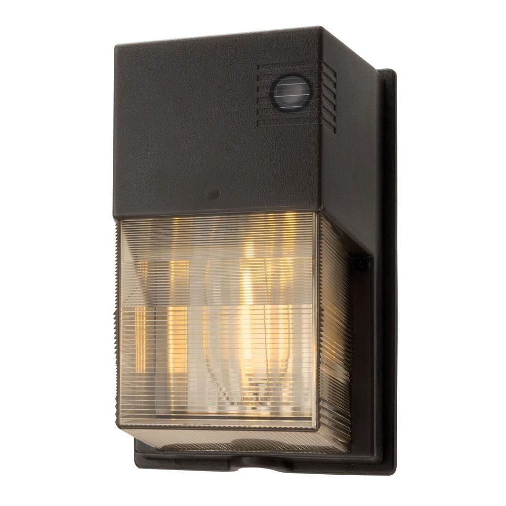 Famous Lithonia Lighting 70 Watt Outdoor Bronze High Pressure Sodium Throughout Outdoor Wall Pack Lighting (View 4 of 20)