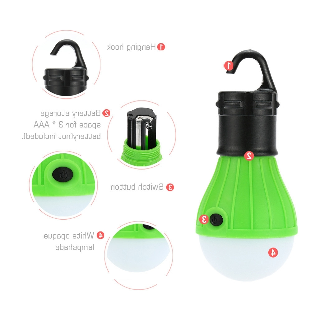 Famous Outdoor Hanging Camping Lights Inside Portable Led Portable Camping Outdoor Hanging 39 Led Camping (View 11 of 20)