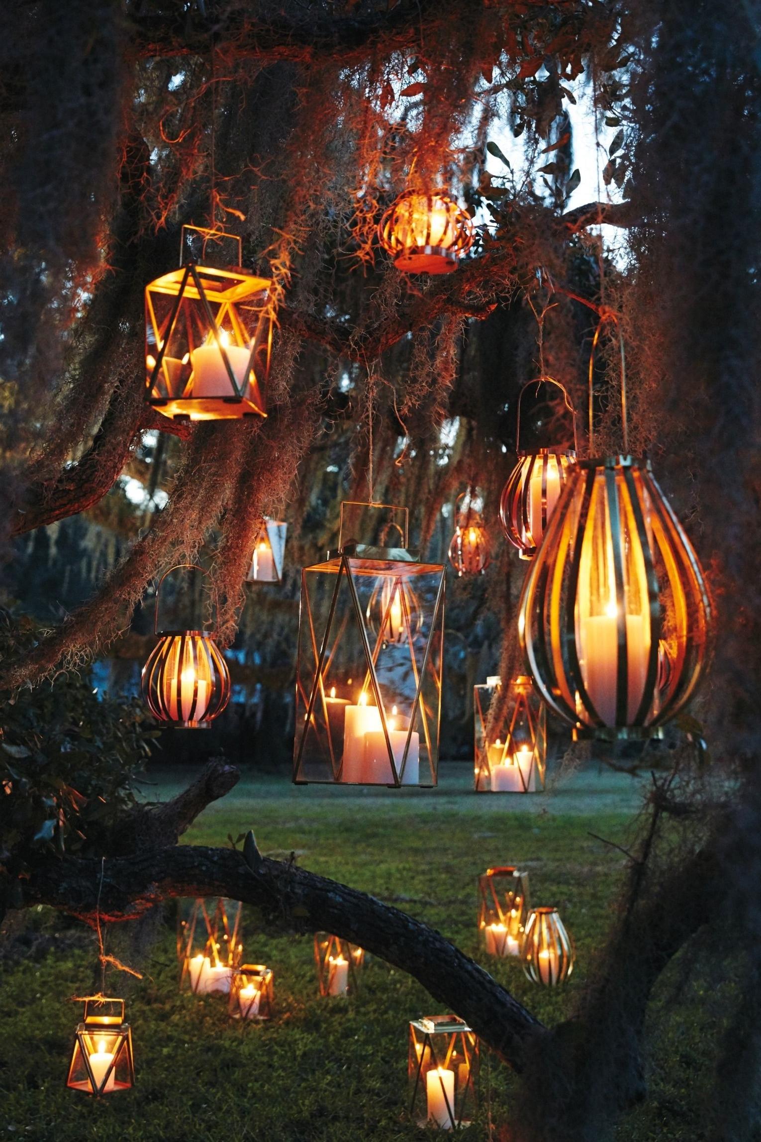 Famous Outdoor Hanging Tree Lanterns Inside Nantucket Brass Lantern (View 5 of 20)