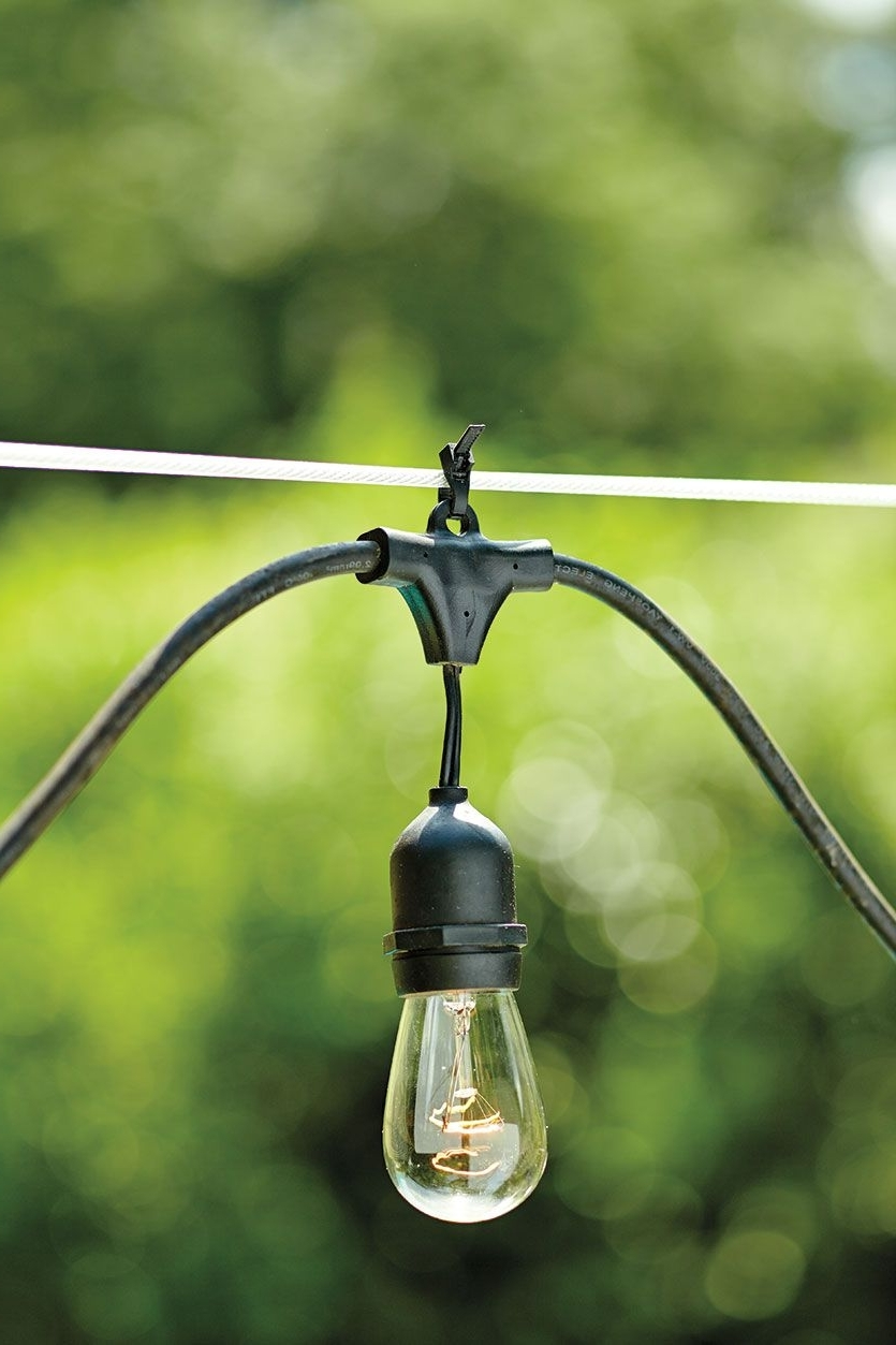 Famous Outdoor Hooks For Hanging Lights Throughout How To Hang String Lights (View 5 of 20)