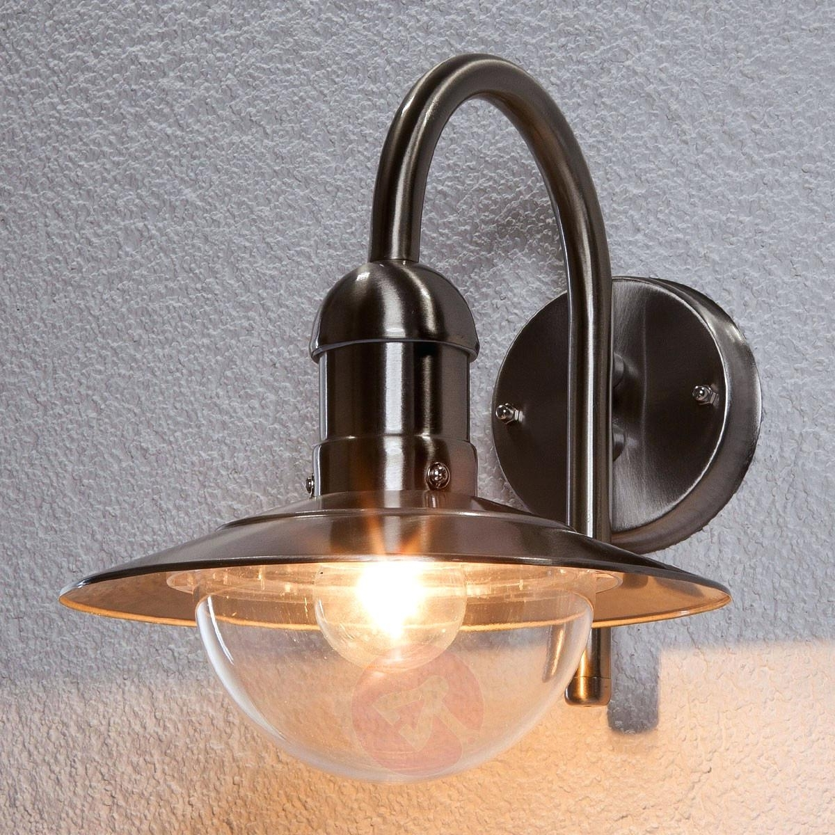 Famous Outdoor Wall Lamp Exterior Design Lantern With Gfci Outlet Sconces In Outdoor Wall Lights With Gfci Outlet (View 2 of 20)