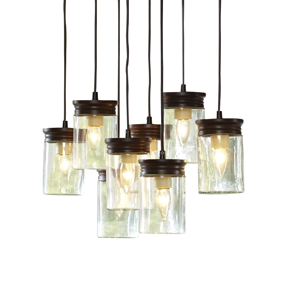 Famous Shop Allen + Roth 8 In W Oil Rubbed Bronze Standard Pendant Light Inside Lowes Outdoor Hanging Lighting Fixtures (View 4 of 20)