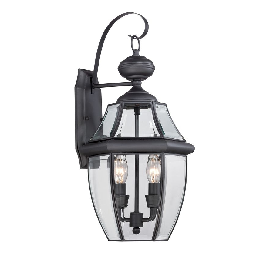 Farmhouse Outdoor Wall Lighting Pertaining To Most Current Shop Portfolio Brayden  (View 4 of 20)