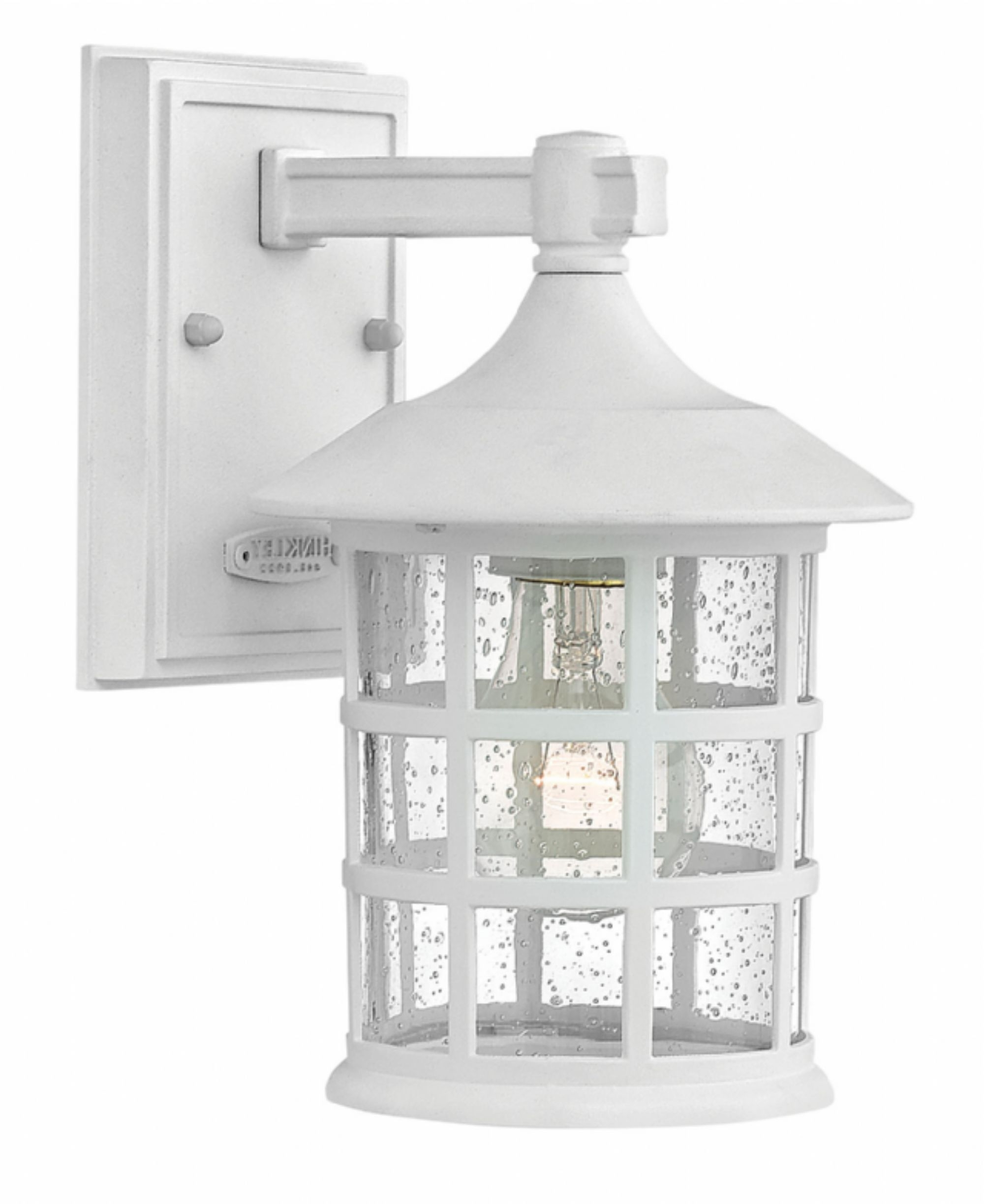 Fashionable Classic White Freeport > Exterior Wall Mount For White Outdoor Wall Lights (View 4 of 20)