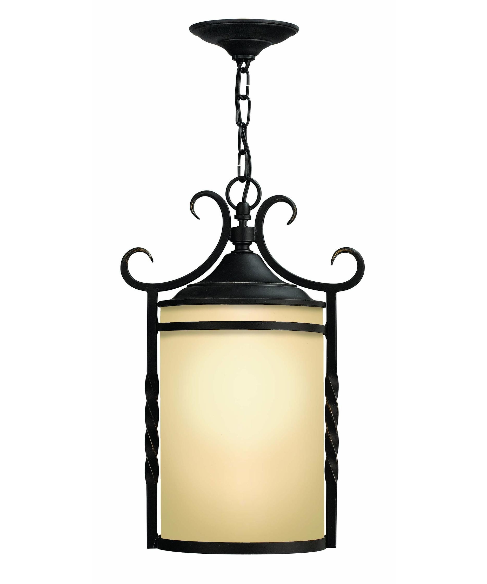 Fashionable Hinkley Lighting 1142 Casa Exterior 12 Inch Wide 1 Light Outdoor With Regard To Hanging Porch Hinkley Lighting (View 4 of 20)