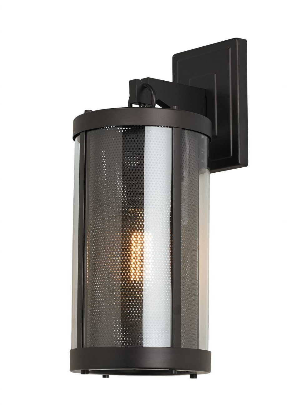 Fashionable Hinkley Lighting For Modern Garden Regarding Outdoor : Hinkley Lighting Atlantis Contemporary Outdoor Wall Sconce (View 5 of 20)