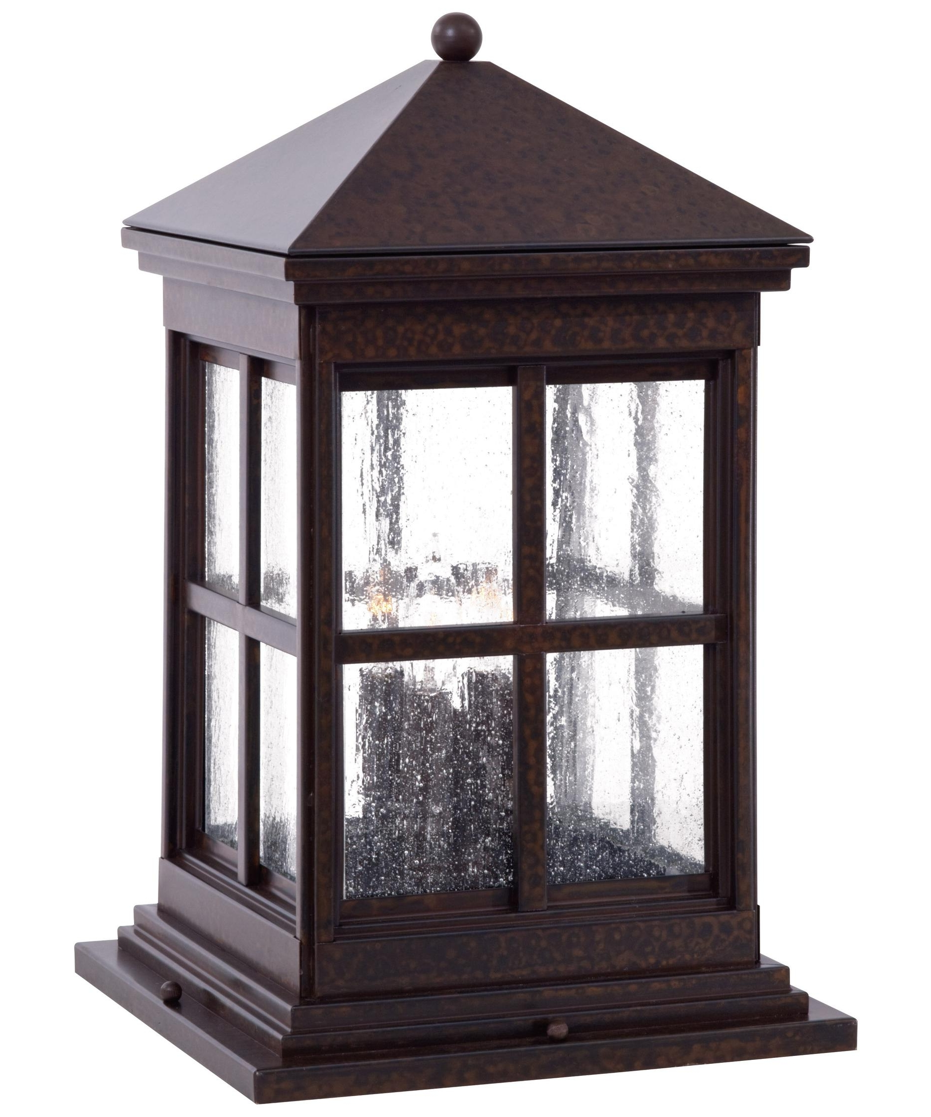 Fashionable Minka Lavery 8567 Berkeley 4 Light Outdoor Pier Lamp (View 16 of 20)