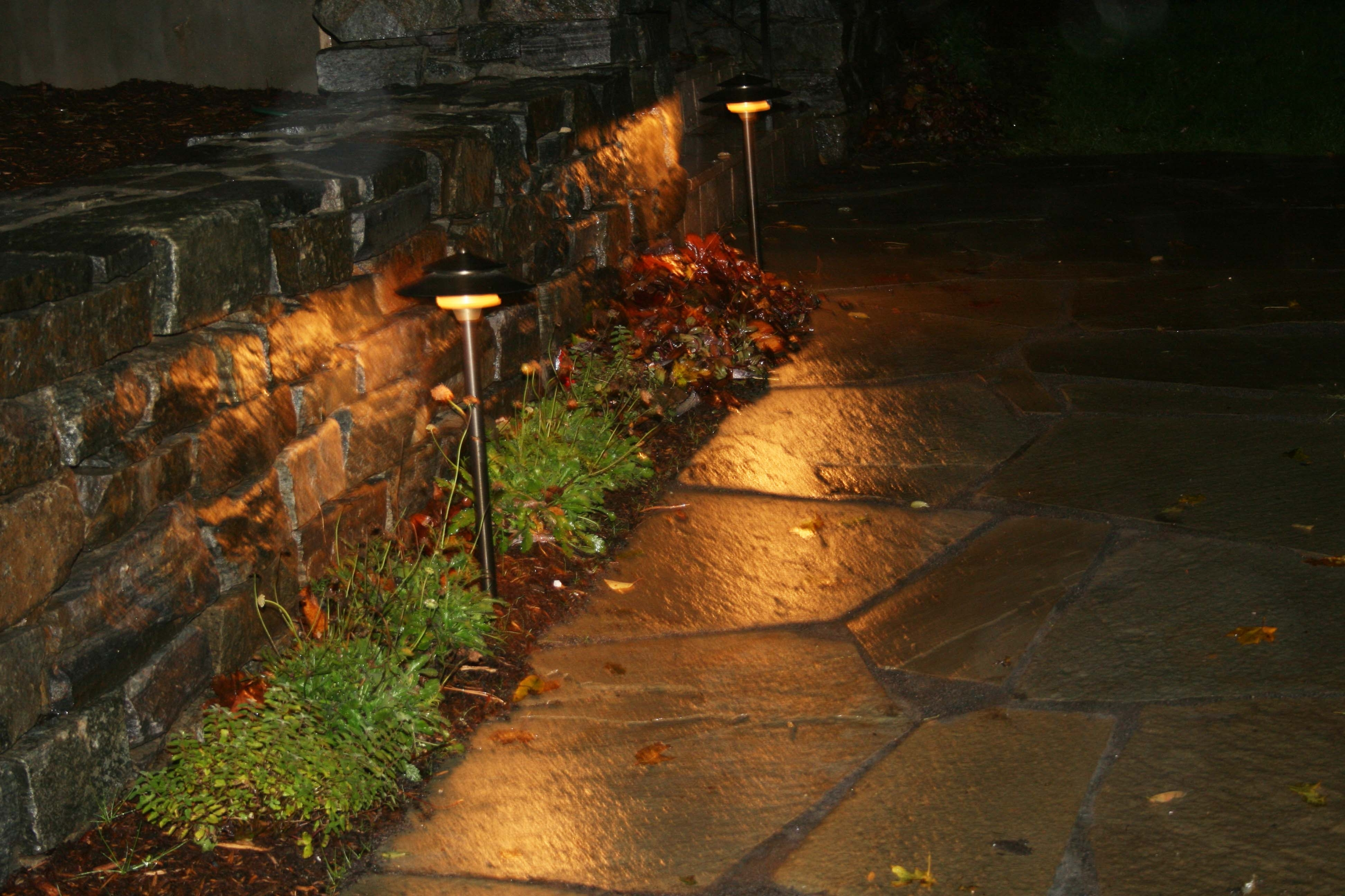 Fashionable Modern Path Lights Outdoor — Michael Churchos Throughout Modern Solar Driveway Lights At Target (View 2 of 20)