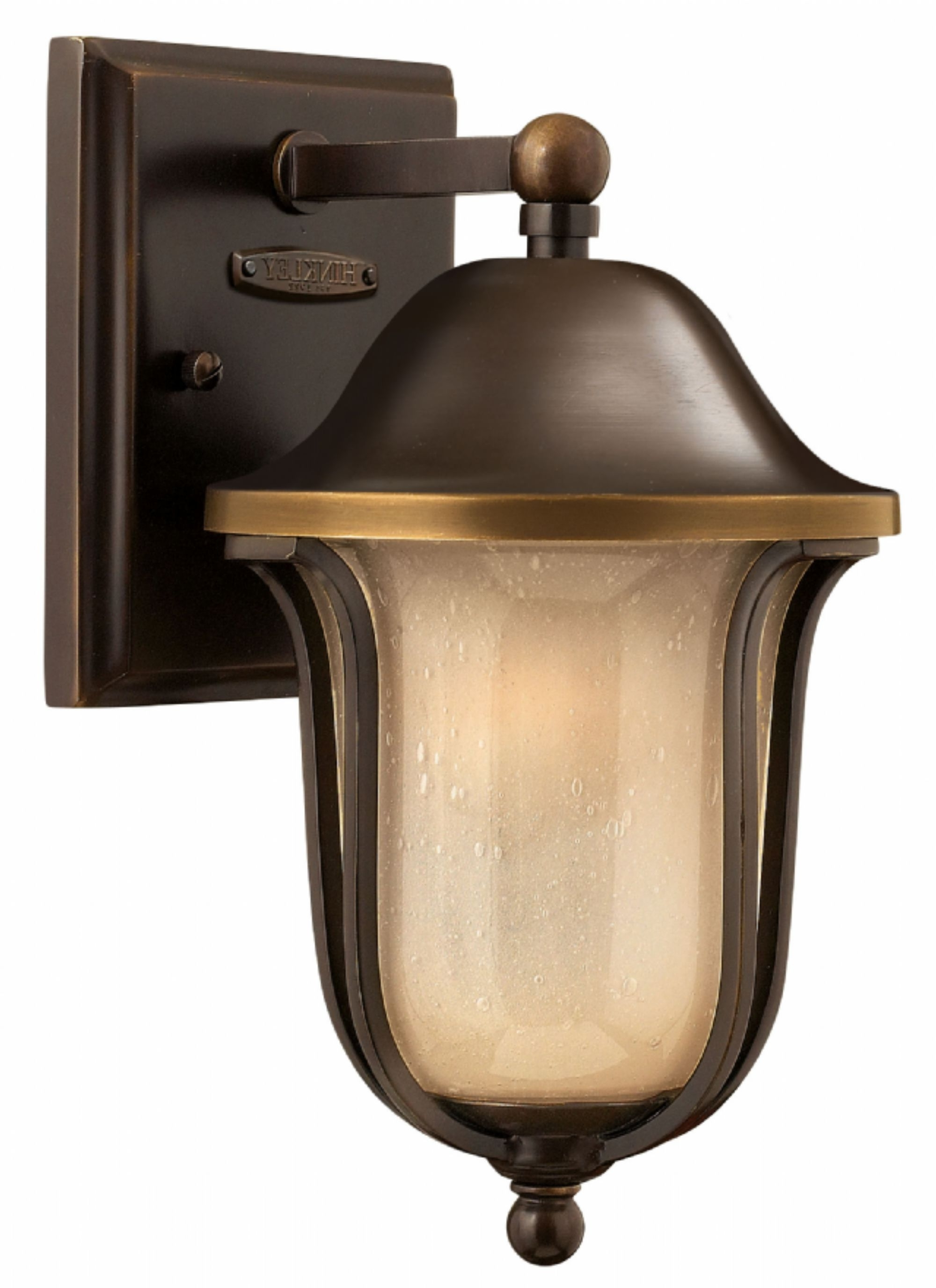 Fashionable Olde Bronze Bolla > Exterior Wall Mount Throughout Double Wall Mount Hinkley Lighting (View 9 of 20)