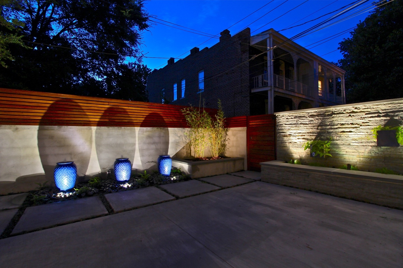 Fashionable Outdoor And Patio: Awesome Outdoor String Lightong For Backyard Wall Within Outdoor Wall Patio Lighting (View 3 of 20)