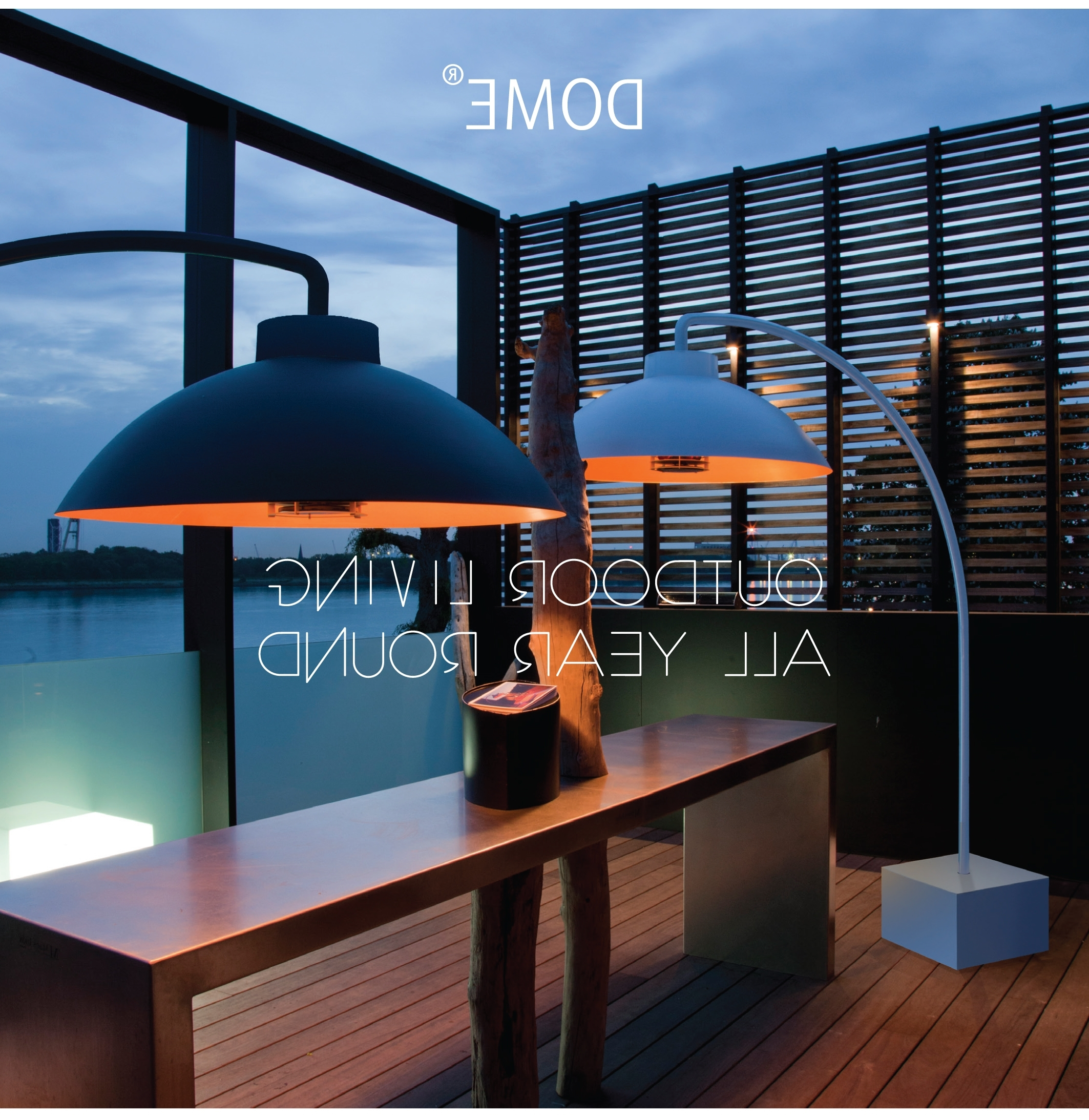 Fashionable Outdoor Hanging Heat Lamps For Dome Outdoor Heat Lamp (View 5 of 20)