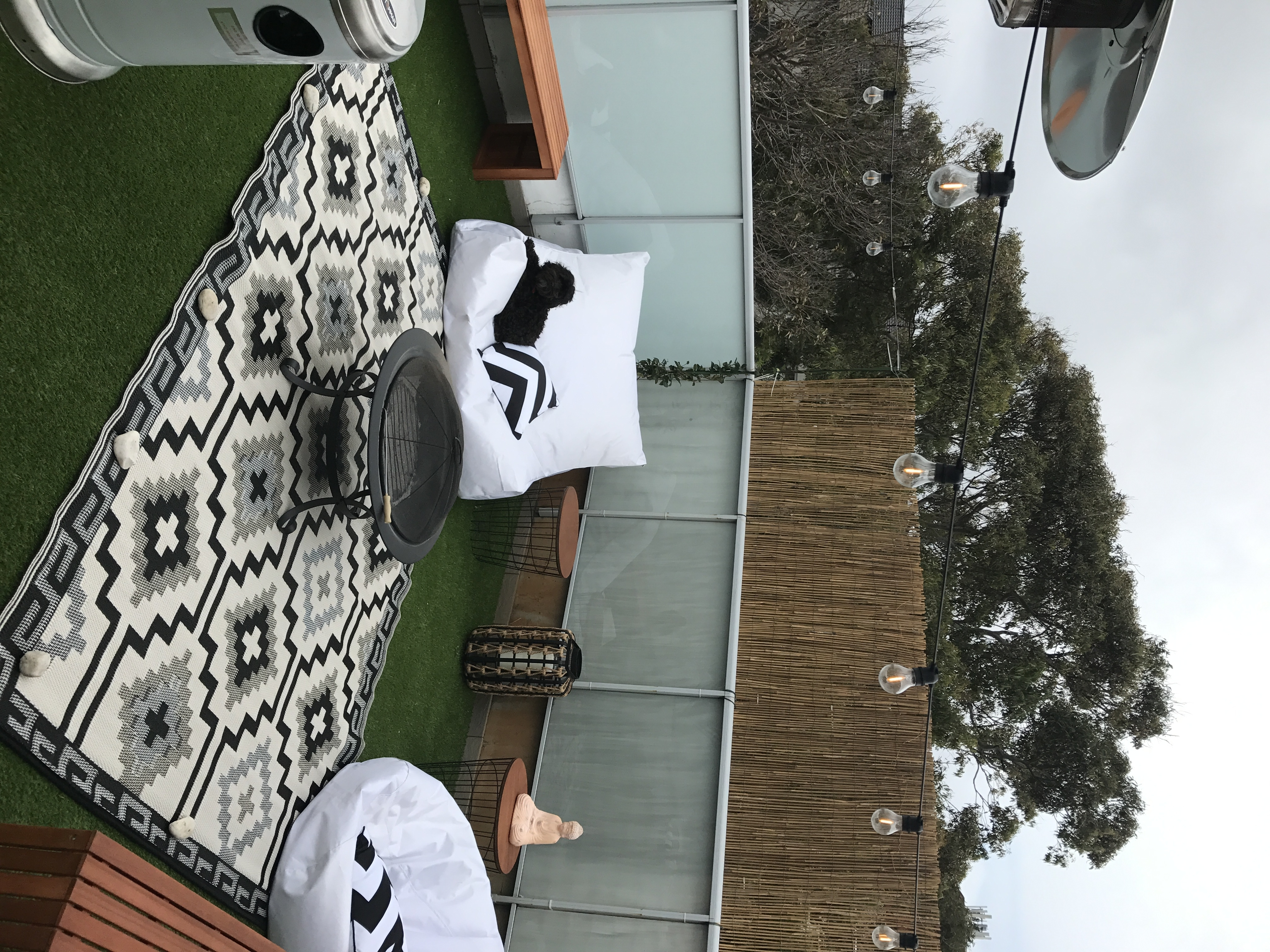 Fashionable Roof Terrace Chill Zone (View 15 of 20)