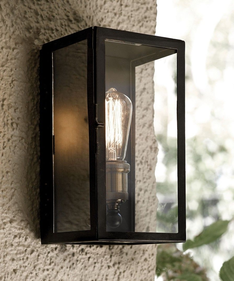 Fashionable Southampton 1 Light Small Wall Sconce In Antique Black (View 8 of 20)