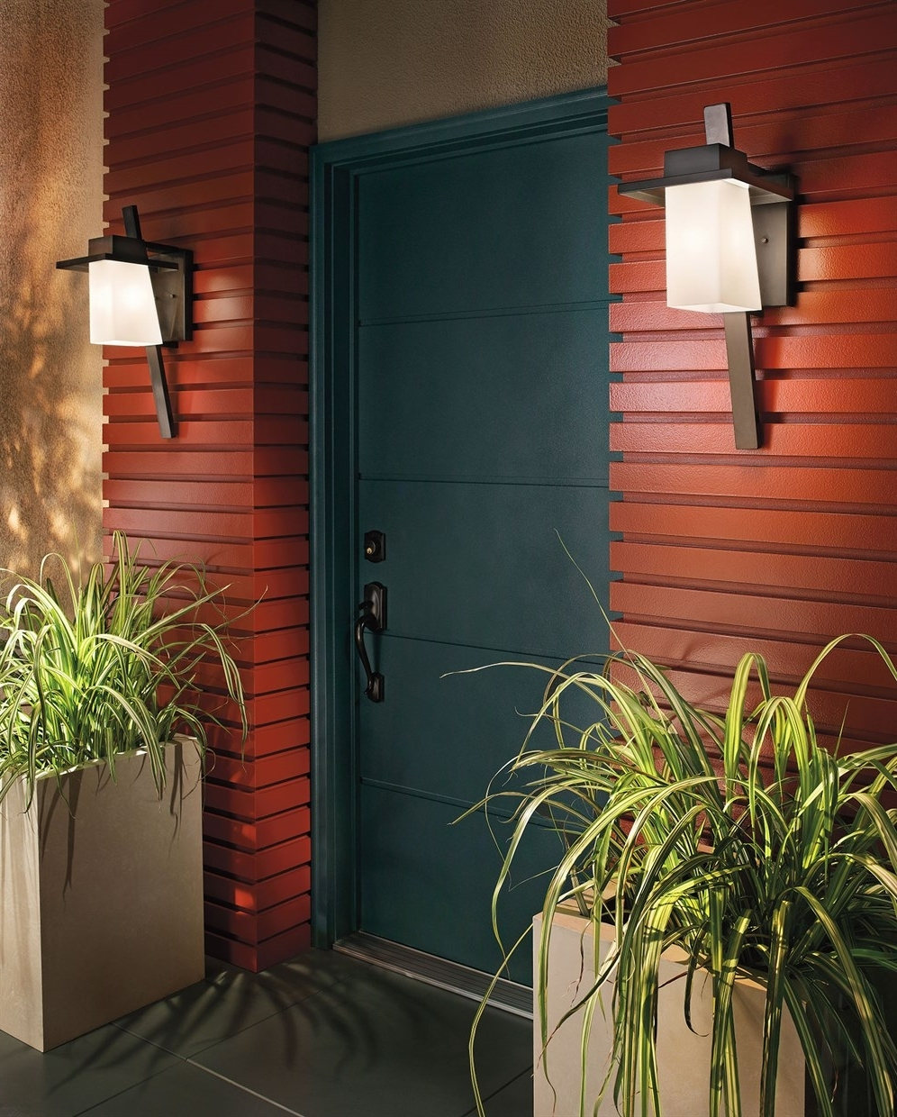 Fashionable Stonebrook Collection With Regard To Outdoor Wall Led Kichler Lighting (View 11 of 20)
