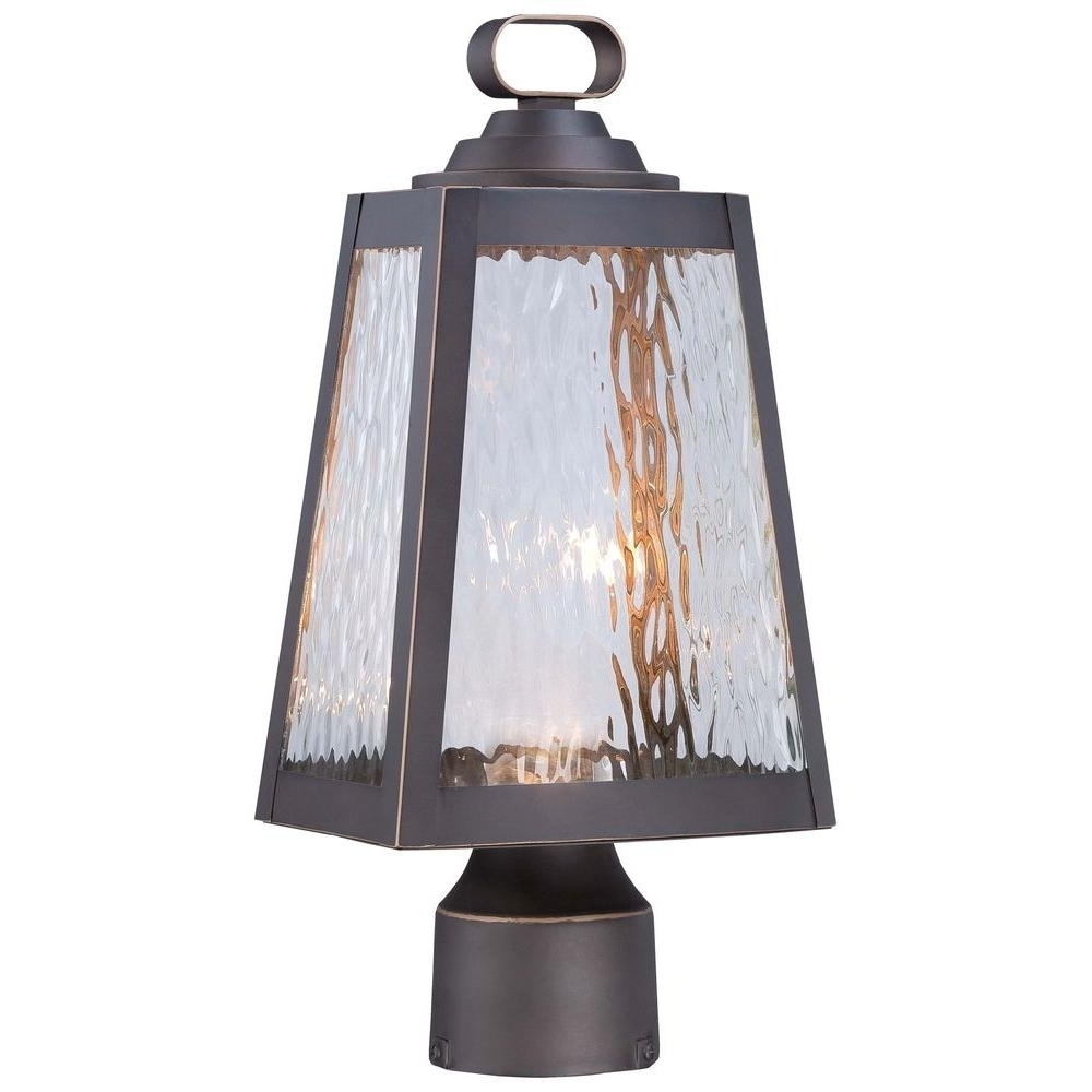Fashionable Wayfair Led Post Lights Regarding The Great Outdoorsminka Lavery Talera Led 1 Light Oil Rubbed (View 4 of 20)