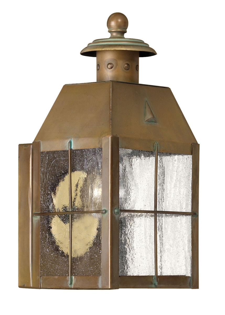Favorite Antique Brass, Golds, Outdoor Wall Sconces, Outdoor Lights – Lamps Expo Throughout Antique Brass Outdoor Lighting (View 13 of 20)