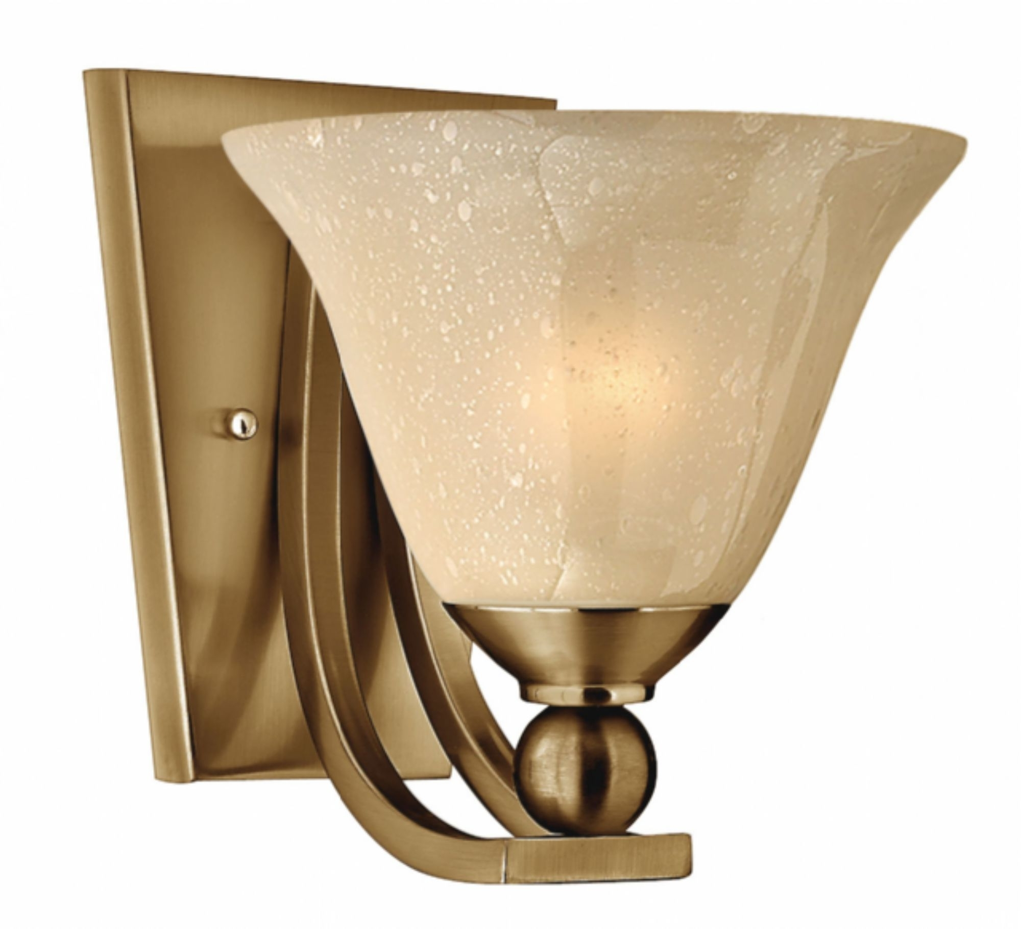 Favorite Brushed Bronze Bolla > Interior Wall Mount Intended For Double Wall Mount Hinkley Lighting (View 10 of 20)
