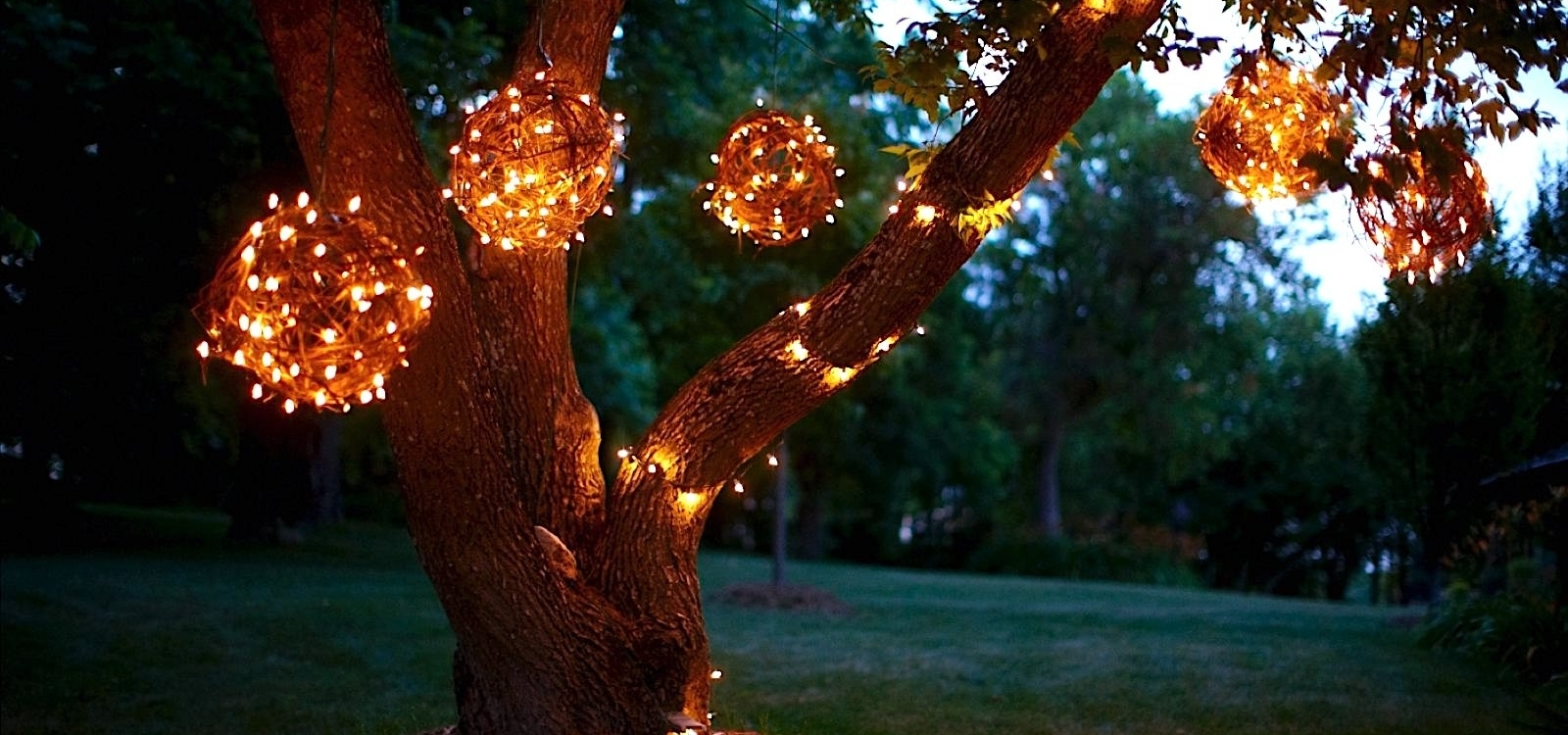 Favorite Diy How To Make Hanging Grapevine Balls With Twinkle Lights Inside Outdoor Hanging Grape Lights (View 3 of 20)