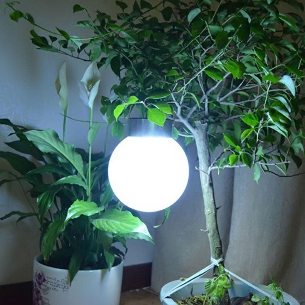 Favorite Inexpensive Outdoor Hanging Lights Pertaining To New Outdoor Solar Hanging Lights Ball Shape Abs+stainless Steel (View 20 of 20)