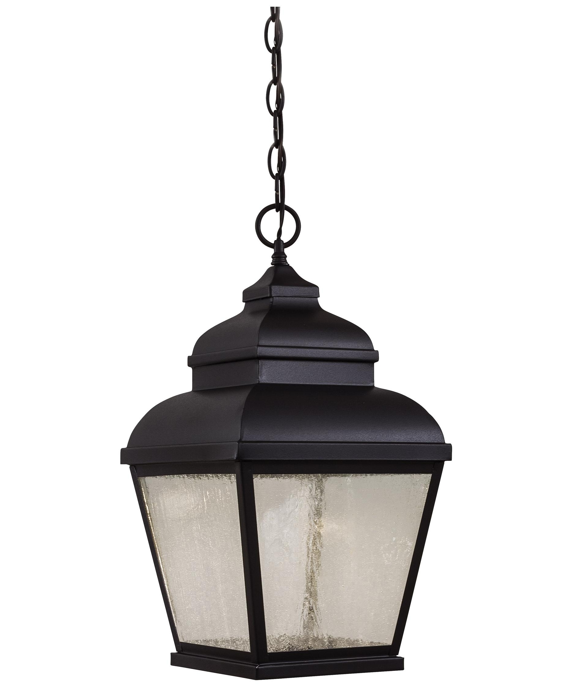 Favorite Large Outdoor Hanging Lights Intended For Minka Lavery 8264 Mossoro 10 Inch Wide 3 Light Outdoor Hanging (View 19 of 20)