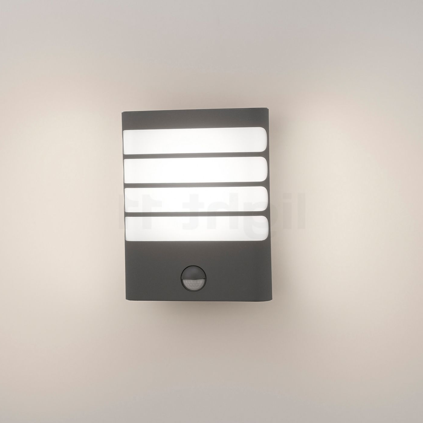 Favorite Led Outdoor Raccoon Wall Lights With Motion Detector Inside Philips Mygarden Raccoon 17274 Wall Light With Motion Detector Led (View 3 of 20)