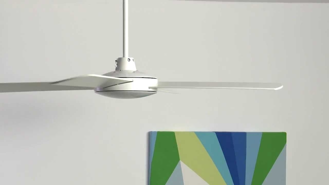 Favorite Lucci Air Futura Fan In Whitebeacon Lighting – Youtube Pertaining To Outdoor Ceiling Fan Beacon Lighting (View 20 of 20)