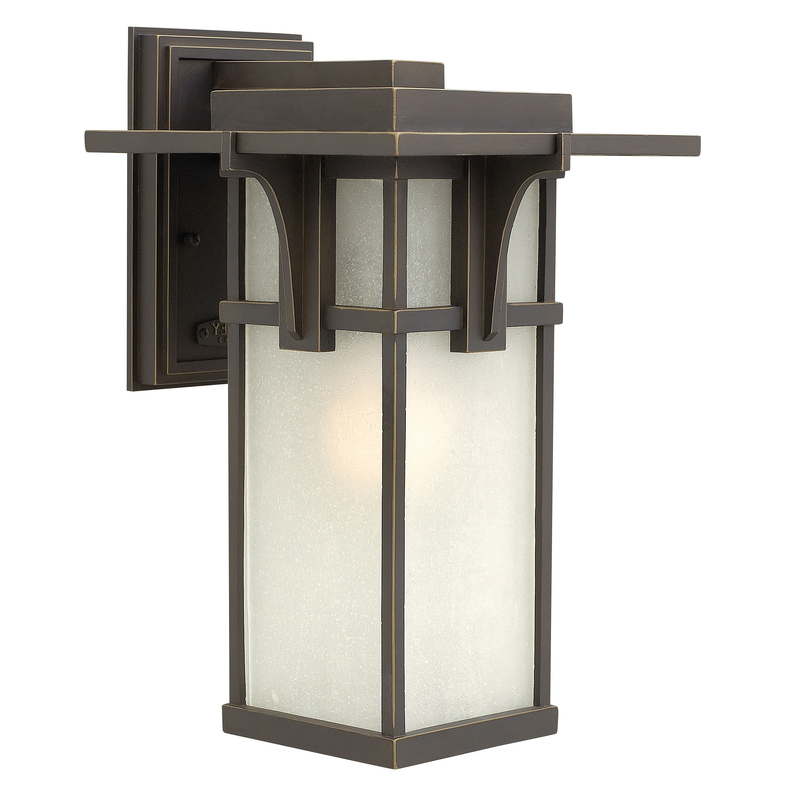 Favorite Modern Garden Porch Light Fixtures At Wayfair Within Missionshaker Outdoor Wall Lighting Wayfair Manhattan 1 Light (View 6 of 20)