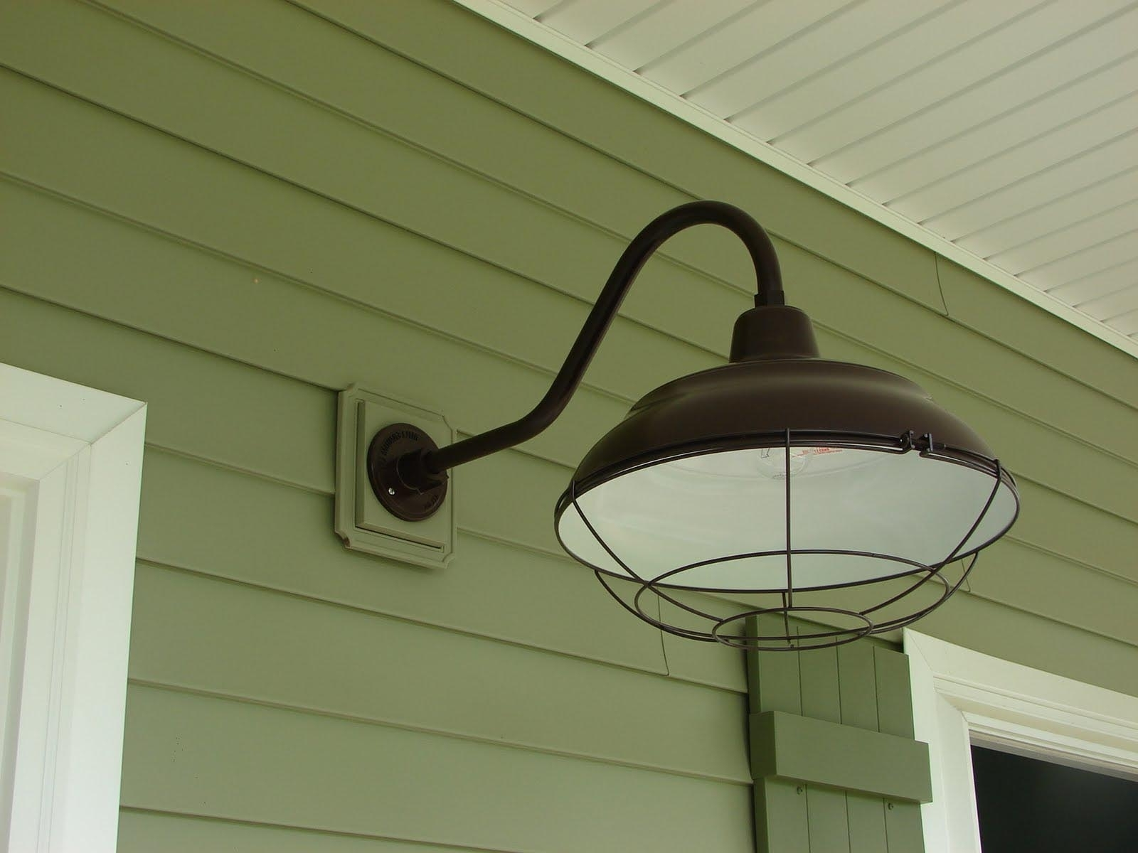 Favorite Outdoor Barn Ceiling Lights Within Outside Barn Lighting Fixtures (View 7 of 20)