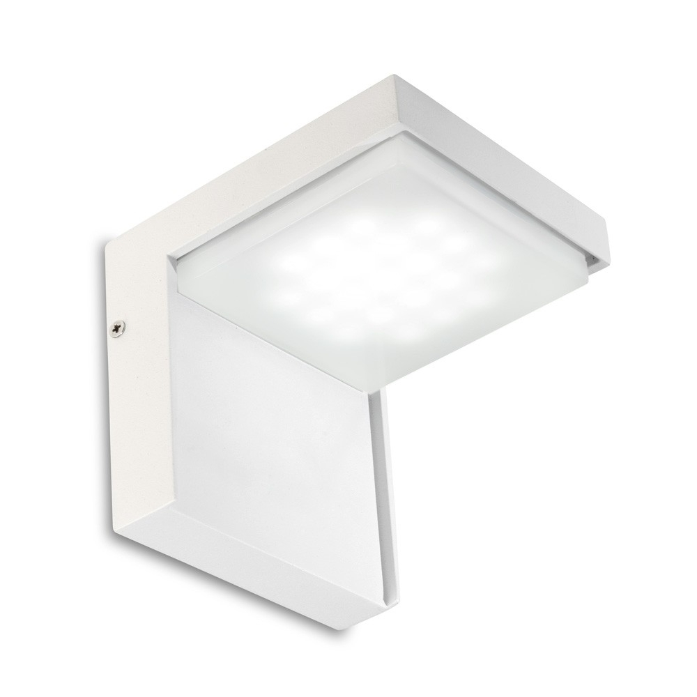 Favorite Outdoor Corner Wall Lighting Throughout Leds C4 Outdoor Corner Wall Light (Led) – Eames Lighting (View 4 of 20)