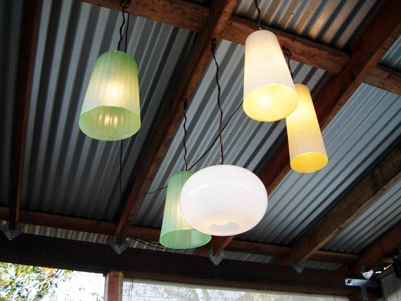 Favorite Outdoor Hanging Gazebo Lights With Regard To How To Make Outdoor Chandeliers (View 3 of 20)