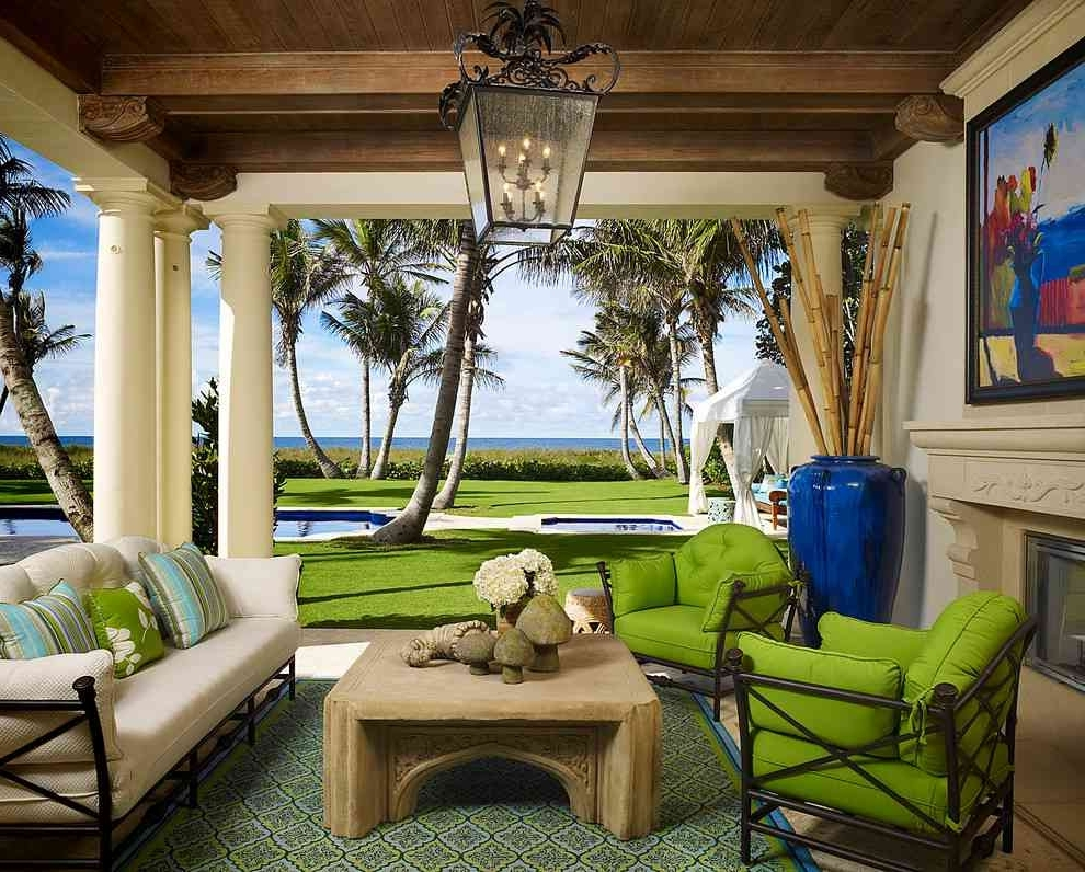 Favorite Outdoor Hanging Patio Lanterns With Regard To Large Outdoor Hanging Pendant Lights Lantern In A Coastal Tropical (View 4 of 20)
