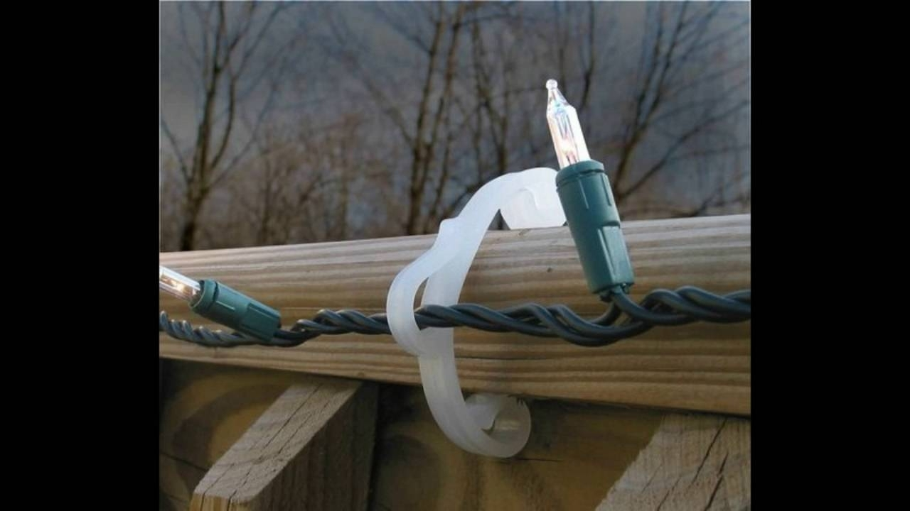 Favorite Outdoor Lights Hanging Clips For Extraordinary Idea Clips For Outdoor Christmas Lights Hanging Gutter (View 8 of 20)