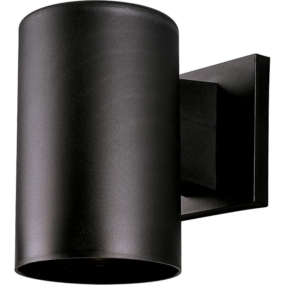 Favorite Outdoor Wall Down Lighting Inside Progress Lighting 1 Light Black Outdoor Wall Lantern P5712 31 – The (View 14 of 20)