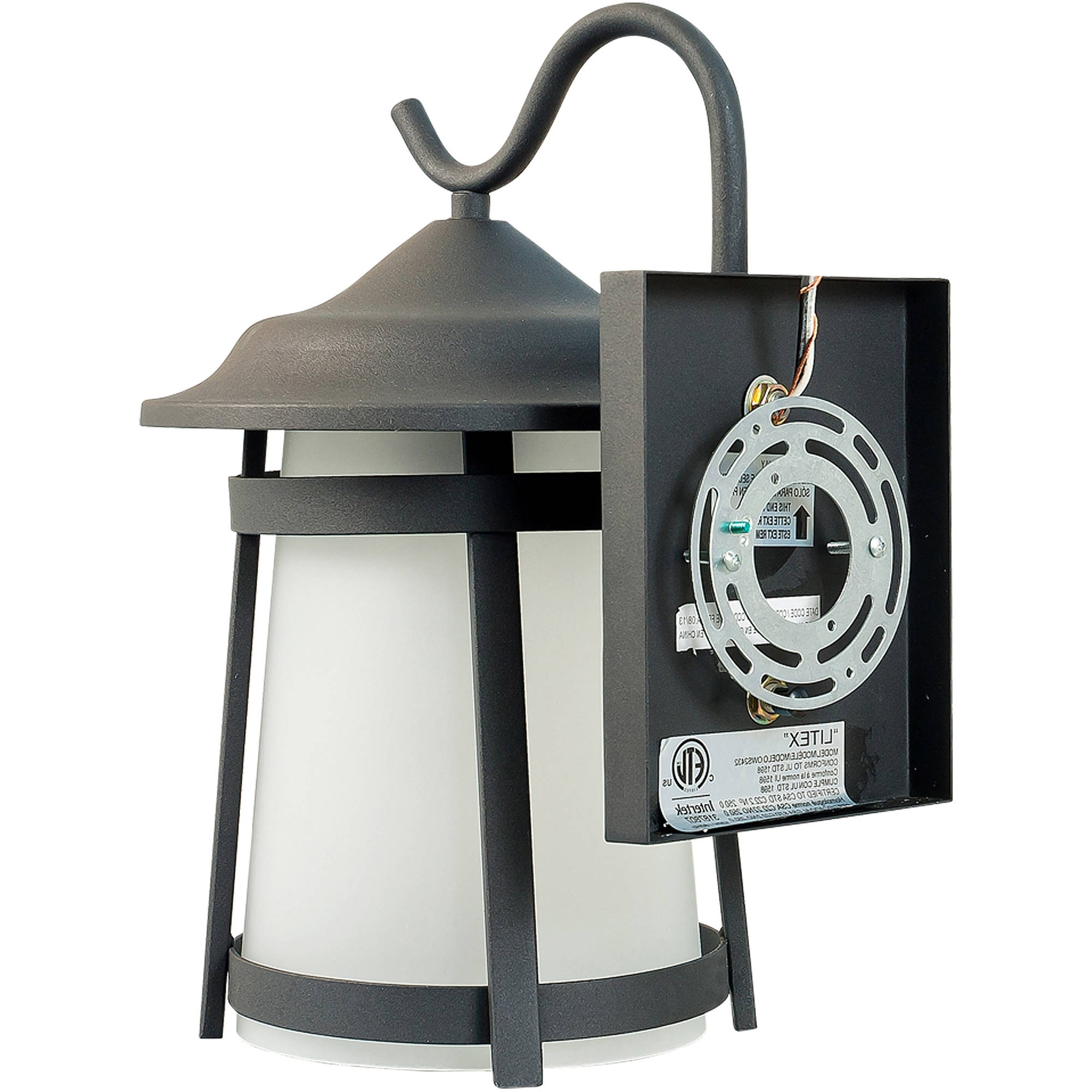 Favorite Outdoor Wall Lighting At Walmart Pertaining To Litex Industries Outdoors Wall Lighting Litex Outdoor Wall Light (View 6 of 20)