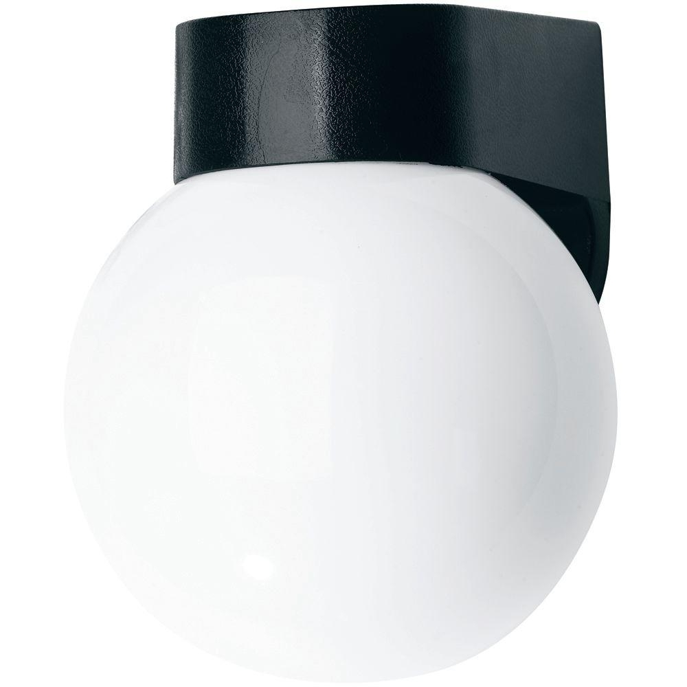 Favorite Outside Wall Globe Lights With Newport Coastal Black Coastal Outdoor Globe Light 7791 03B – The (View 8 of 20)