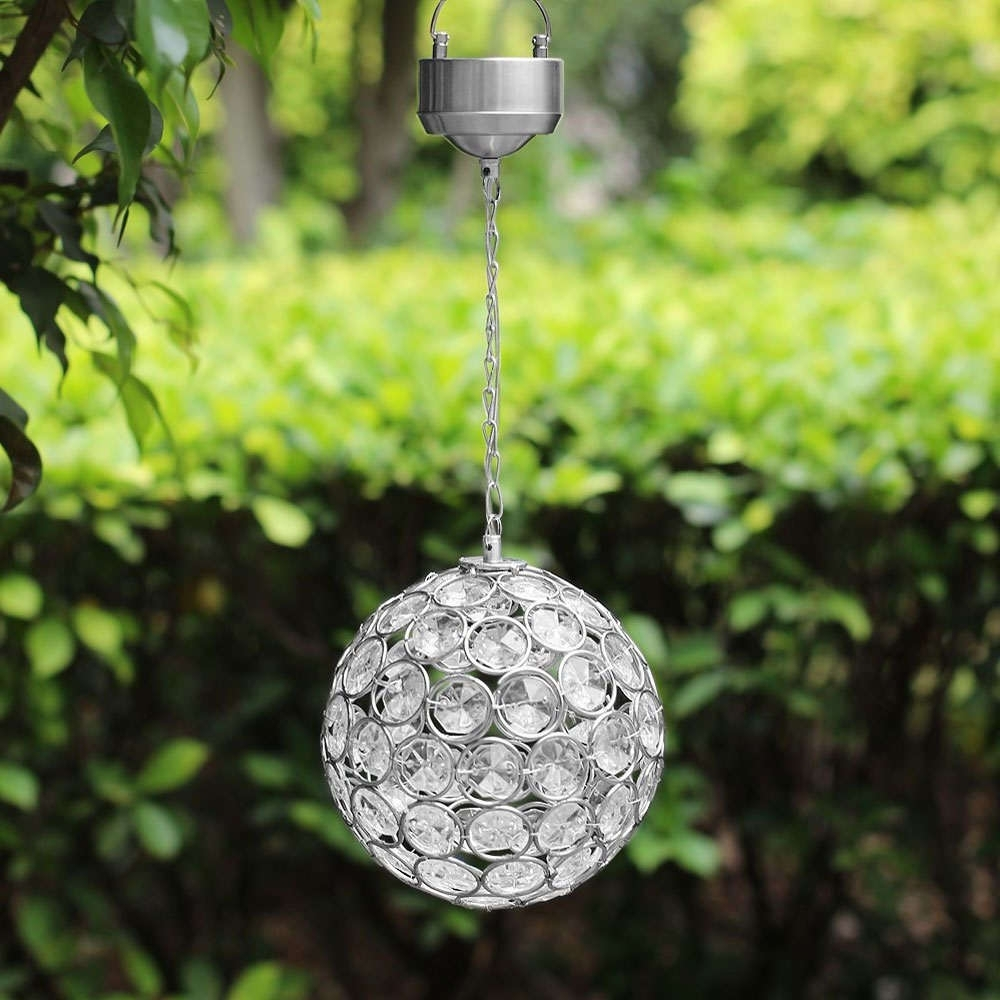 Favorite Solar Outdoor Hanging Lights Inside Glamorous Outdoor Solar Hanging Lights Or Other Lighting Ideas (View 4 of 20)